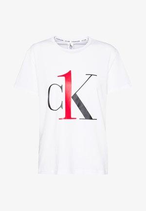 ONE CREW NECK - Pyjamashirt - white red logo