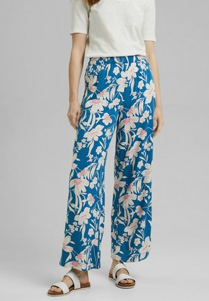 FLOATY - Trousers - bright blue