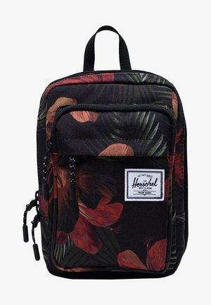 Across body bag - tropical hibiscus