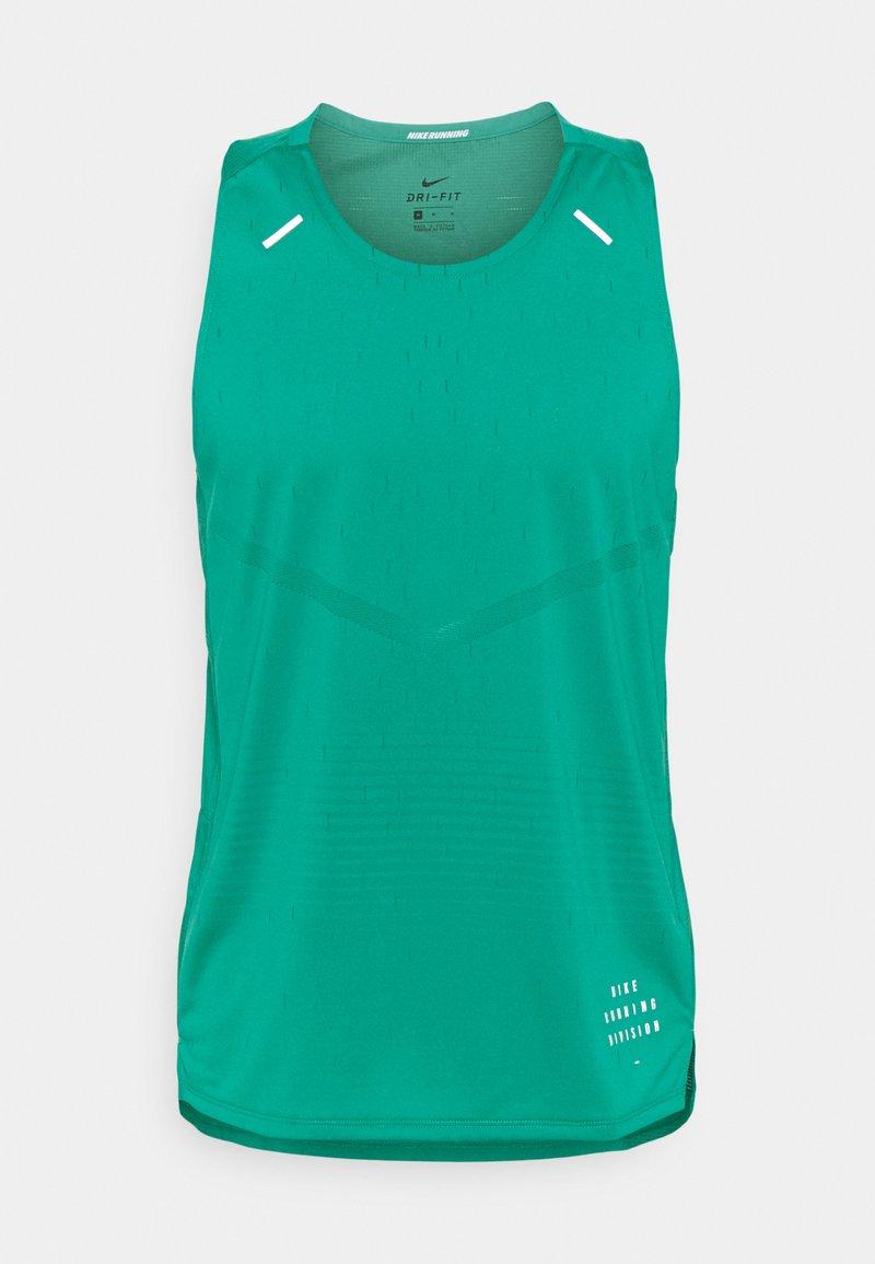 Nike Performance - RISE TANK - Top - neptune green/neptune green