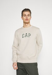 GAP - MINI ARCH - Sweatshirt - oat beige - 0