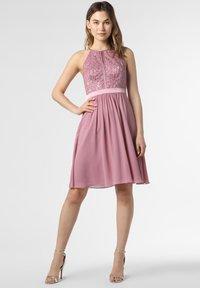 Marie Lund - Cocktail dress / Party dress - rosenholz - 0