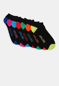 Jack & Jones - JACSUMMER  SHORT SOCK 7 PACK - Ponožky - black - 0