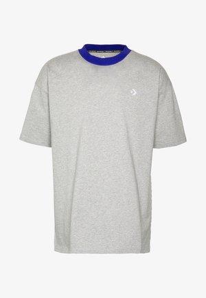 ALL STAR OVERSIZED SHORT SLEEVE TEE - Print T-shirt - mottled light grey