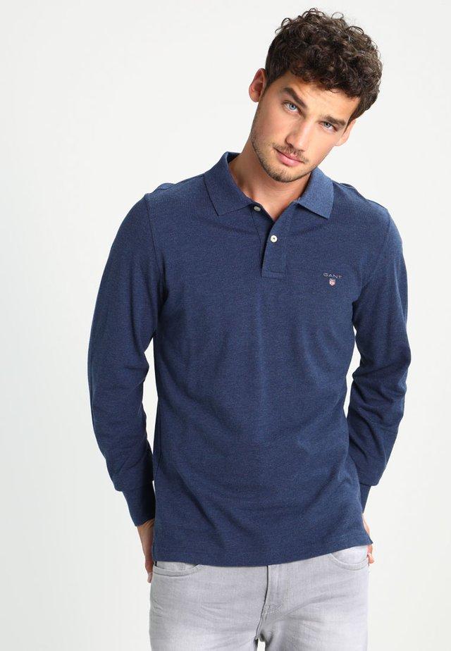 THE ORIGINAL RUGGER - Polo shirt - marine melange