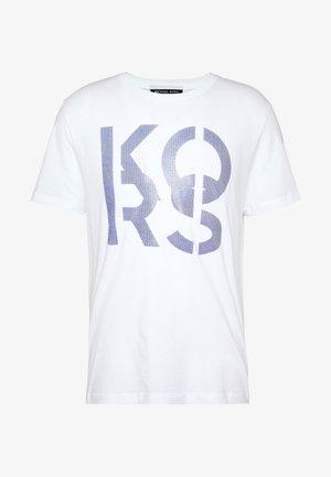 STACKED - Print T-shirt - white