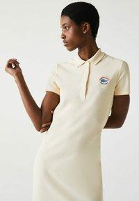Lacoste - JURK - Shift dress - beige - 3