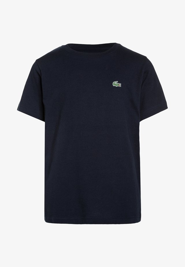 LOGO UNISEX - Basic T-shirt - navy blue