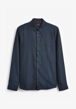 SIGNATURE HERRINGBONE - Camicia elegante - blue