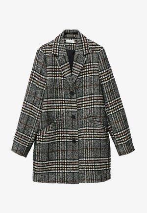 Klasyczny płaszcz - noir