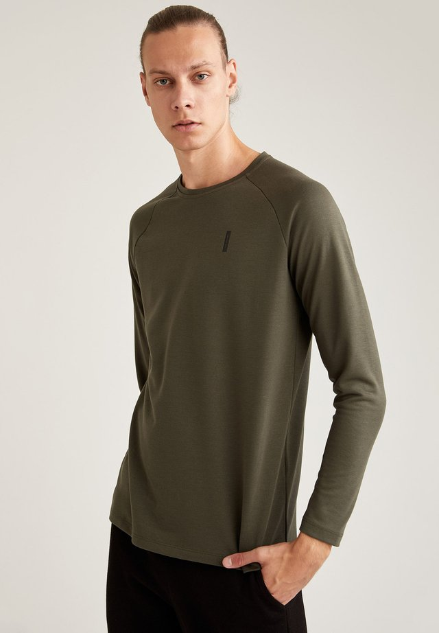 Maglietta a manica lunga - khaki