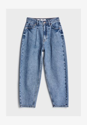Straight leg jeans - blue denim