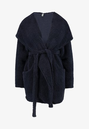 MOOD BLOOMY - Dressing gown - dark blue