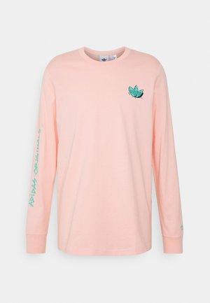 Long sleeved top - glow pink