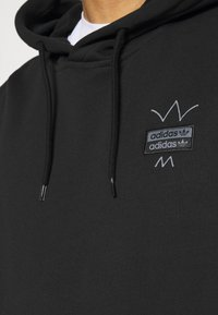 adidas Originals - ABSTRACT HOODY UNISEX - Luvtröja - black - 3