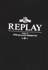 Replay - Print T-shirt - black - 2