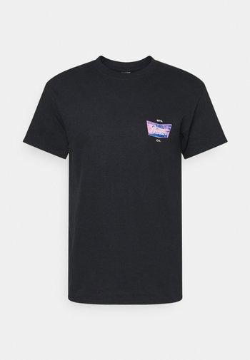 STITH CRASH - Print T-shirt - black