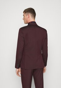 Selected Homme - SLHSLIM-MYLOLOGAN SUIT - Traje - winetasting - 3