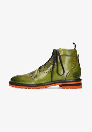 TREVOR - Lace-up ankle boots - green