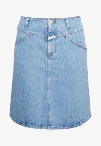 CLOSED - IBBIE - A-line skirt - mid blue - 4