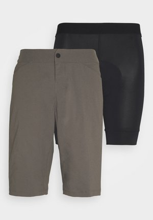 RANGER SHORT 2-IN-1 - Tights - dirt