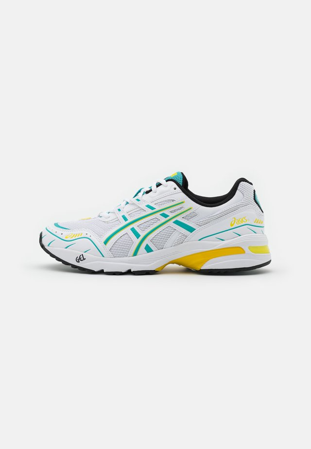 GEL-1090 UNISEX - Sneakers - white/techno cyan