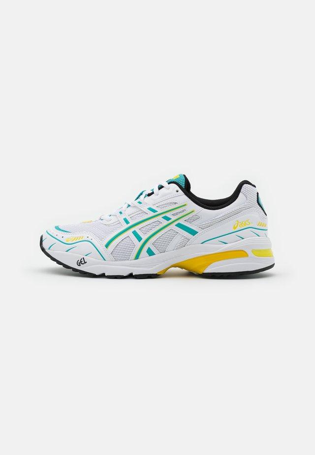 GEL-1090 UNISEX - Sneakers - white/techno cyan