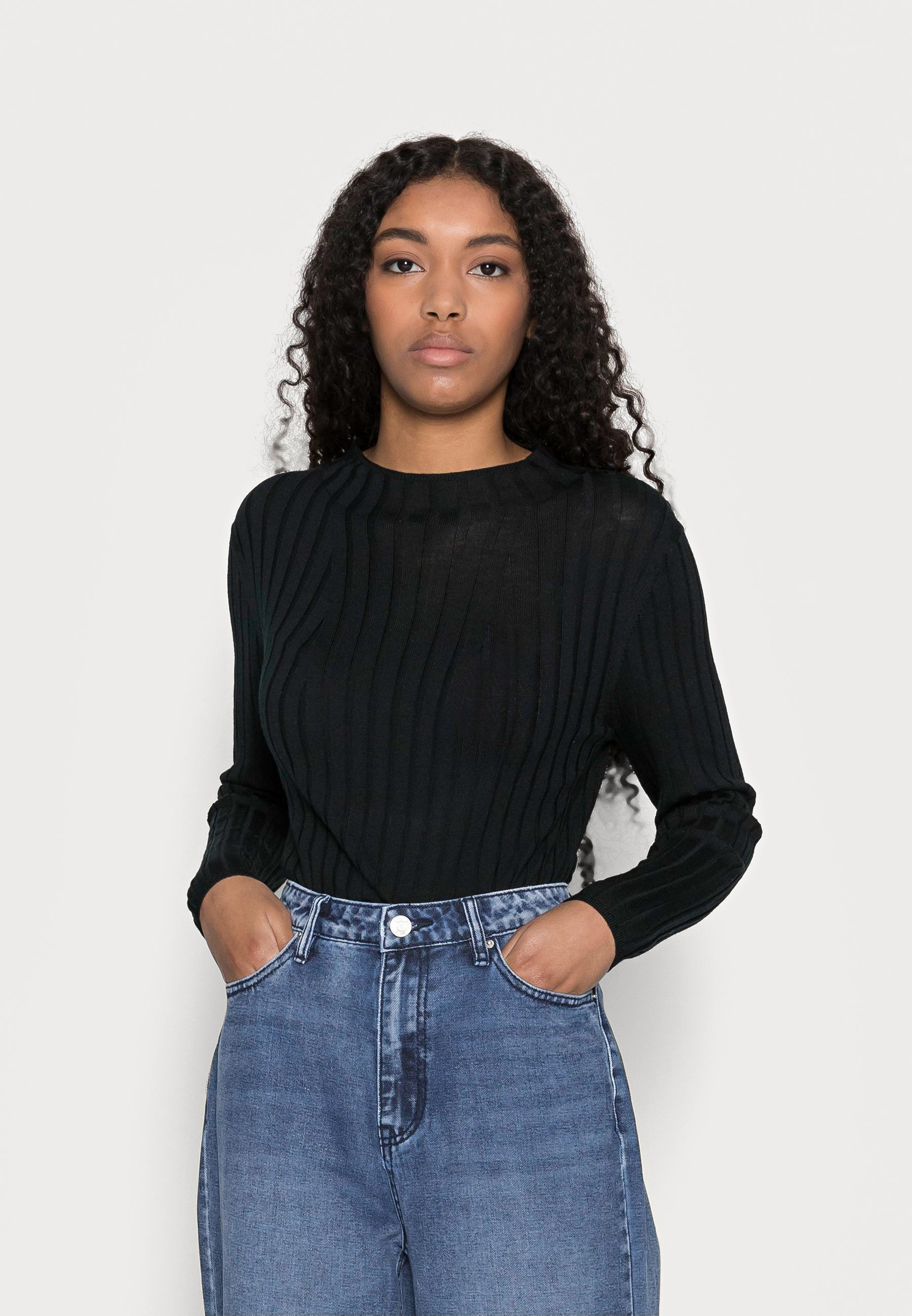 Femme MOCKNECK SOLIDS - Pullover