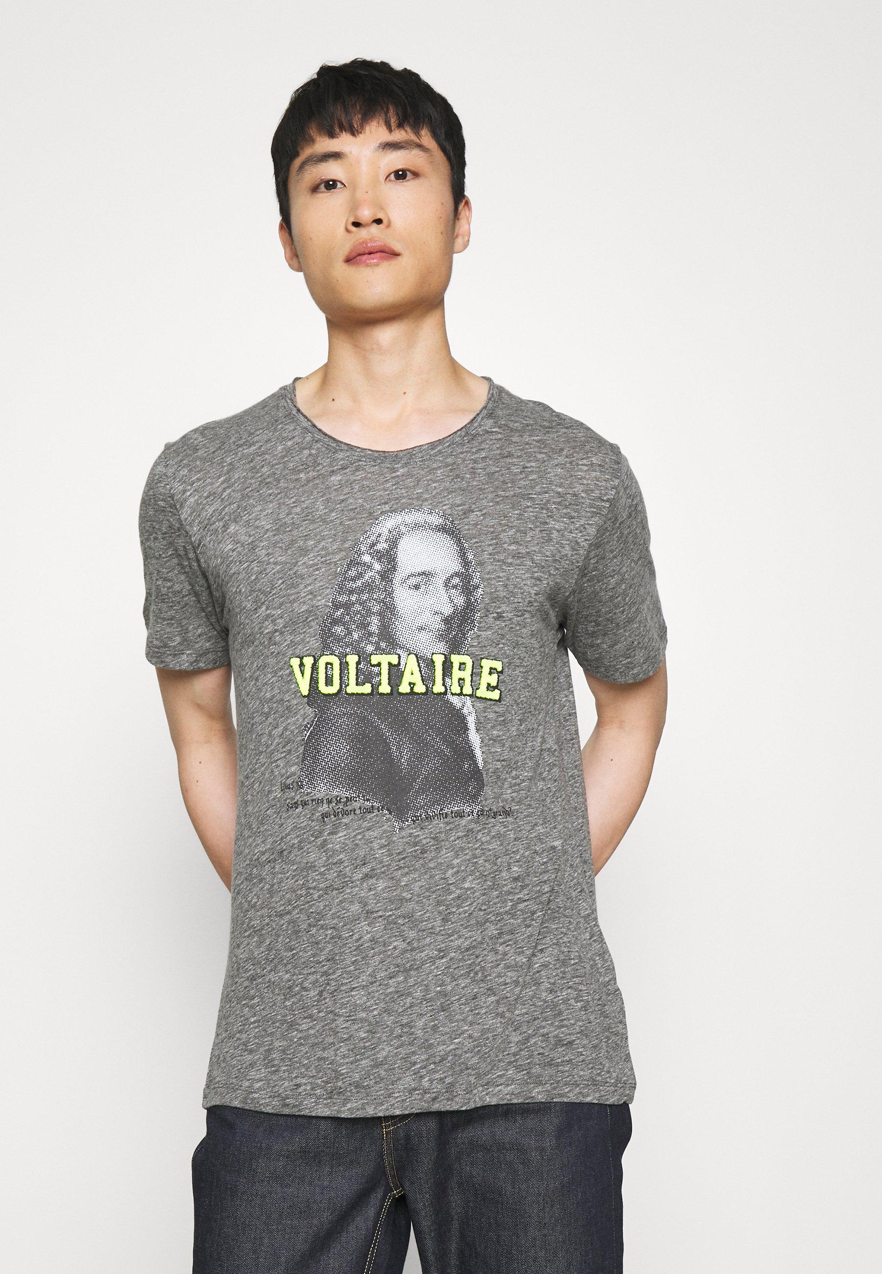 Men TOBY  VOLT - Print T-shirt