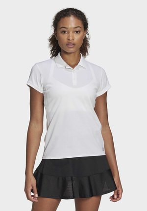 CLUB POLO SHIRT - Polo shirt - white