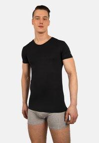 Bandoo Underwear - 2PACK - Undershirt - black,black - 0