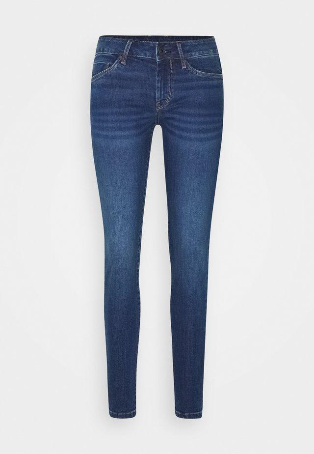 SOHO - Jean slim - blue denim