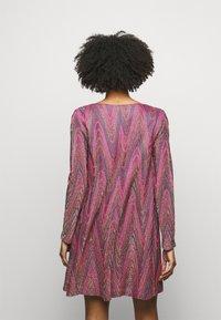 M Missoni - ABITO - Gebreide jurk - purple - 2