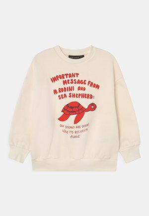 TURTLE UNISEX - Sweatshirt - offwhite