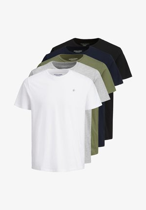 5 PACK - Camiseta básica - white