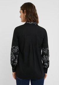 Desigual - CHIARA - Button-down blouse - black - 2