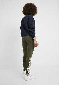 Ellesse - SOLOS - Leggings - Trousers - khaki - 2