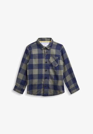 KARIERTES - Shirt - dusty green