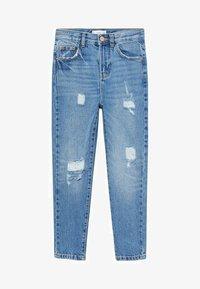 Mango - Slim fit jeans - bleu moyen - 0