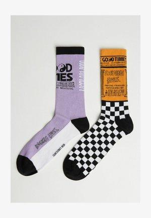 2ER PACK - Ponožky - multi-coloured