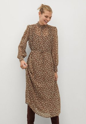 LUCY - Day dress - brown
