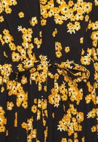 Moss Copenhagen - ESTRID MOROCCO DRESS  - Day dress - black - 2