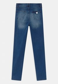 Guess - JUNIOR HIGH WAIST SKI - Jeans Skinny Fit - blue denim - 1