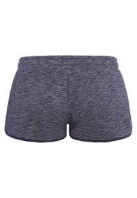 Biyoga - SHORTS -GOTS- BASIC DAMEN - Sports shorts - blau - 4