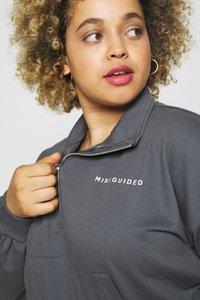 Missguided Plus - KANGROO - Sweatshirt - charcoal - 3