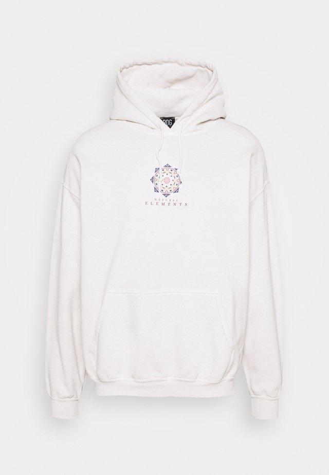 UNISEX MANDALA HOODIE - Sweatshirt - stone