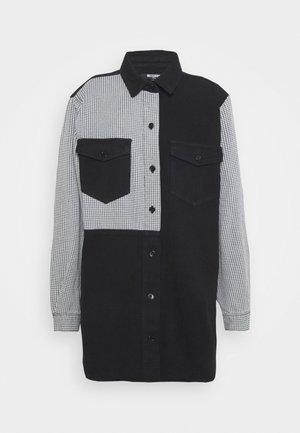HOUNDSTOOTH SPLICE  - Skjorta - black