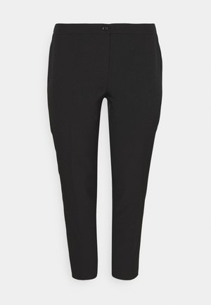 RENIA - Trousers - black