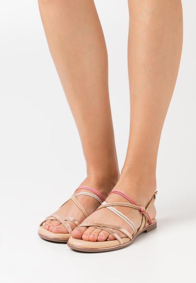 Tamaris - Sandals - almond