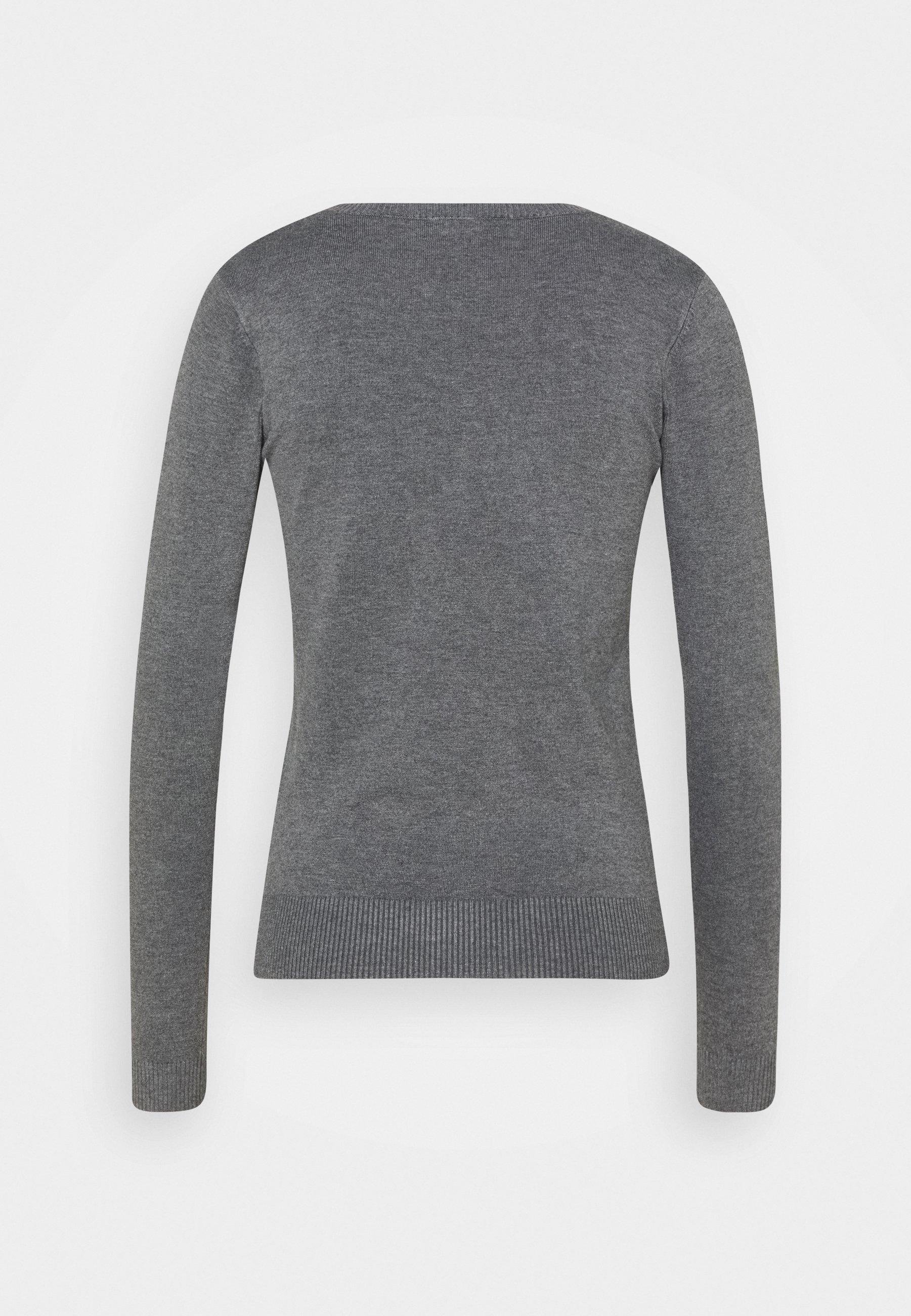 Guess ZOE - Pullover - medium charcoal heat 978VzNp6